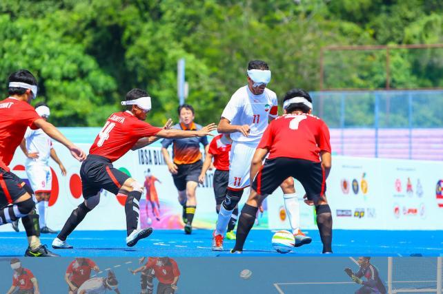 ©️日本ブラインドサッカー協会