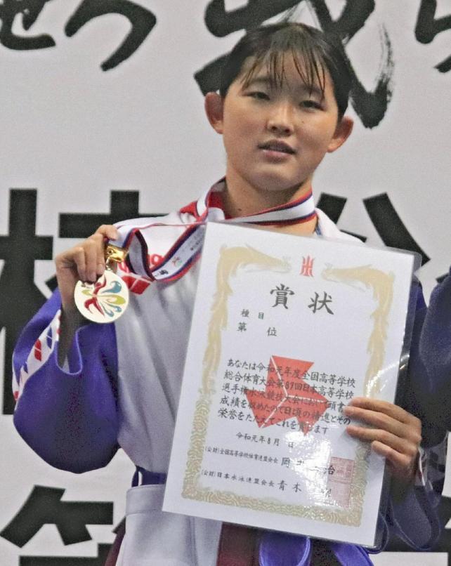 準優勝に輝いた春日部共栄の武田選手