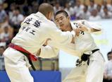 柔道男子60キロ級で準優勝した札幌山の手の鷲見仁義 ©読売新聞社