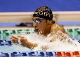 競泳男子200メートル個人メドレーで6位入賞した岐阜聖徳学園の山本海叶 ©読売新聞社