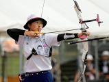 優勝した足立新田の渡辺麻央選手