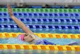 100メートルに続き、200メートル背泳ぎでも優勝した武南の酒井夏海選手