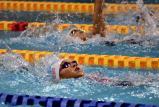 女子400メートル個人メドレーで3位の何沢選手