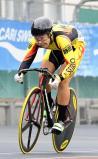 自転車男子スプリント予選で大会新記録を出した星陵・井出晃太郎選手