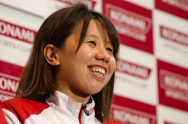 水泳10kmマラソン日本代表の貴田裕美(2016年7月1日)撮影:五味渕秀行