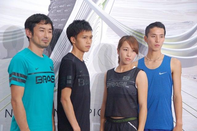 ナイキ「ルナエピック フライニット」記者発表会(2016年6月29日)撮影:大日方航