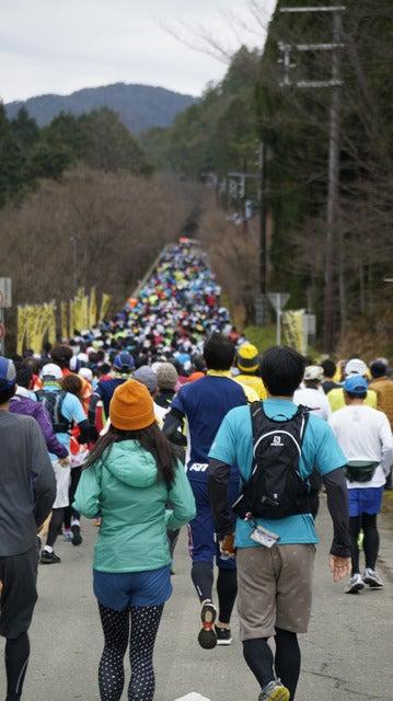 累積標高694mのハーフマラソン「京都高雄マウンテンマラソン」