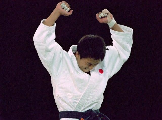 野村忠宏(2000年9月17日)(c)Getty Images