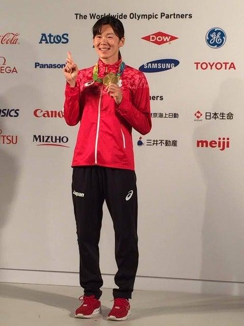 【リオ2016】競泳200m平泳ぎ金藤理絵、金メダル獲得も「喜んでいいのか分からない状況だった」撮影者:大日方航