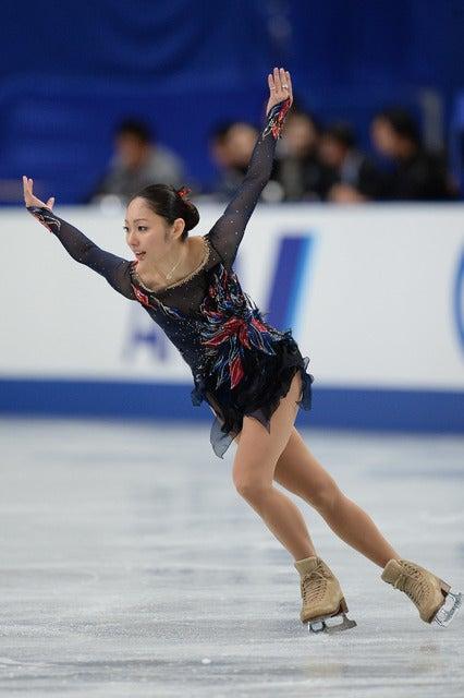安藤美姫 参考画像(2013年12月23日)(c) Getty Images