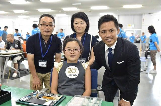 柔道家・野村忠宏、「Panasonic Store工房」にゲスト参加