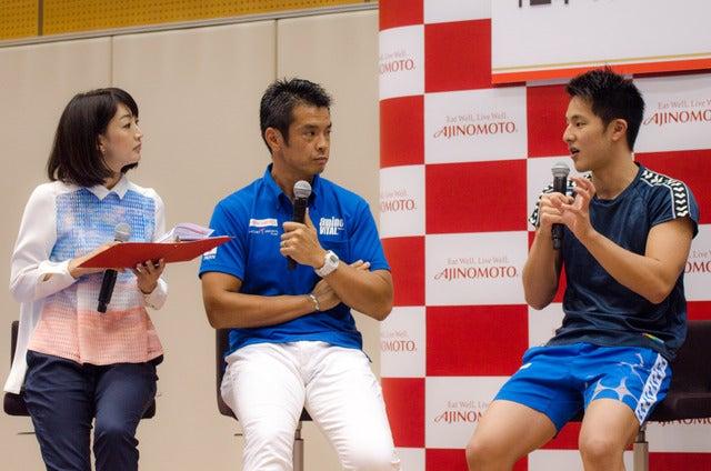 味の素メディアセミナー「日本のトップアスリートを支えているアミノ酸」が開催開催(2016年9月14日)撮影:五味渕秀行