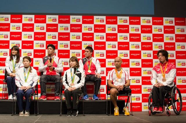 スポーツくじ(toto・BIG)感謝イベント(2016年10月6日)撮影:五味渕秀行