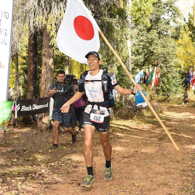 北田雄夫(近畿大学AC)がアドベンチャーマラソン「Grand to Grand Ultra」で年代別1位を獲得