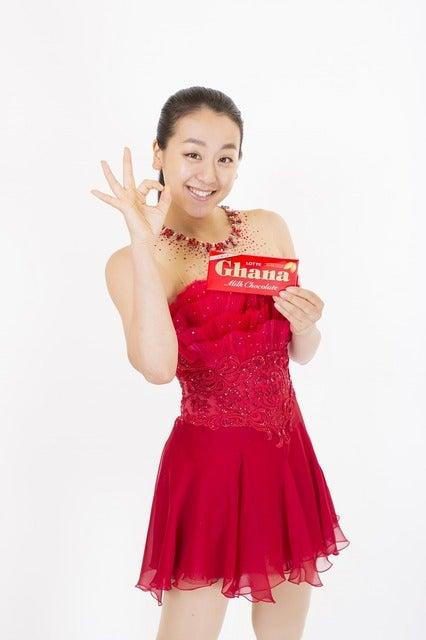 浅田真央と羽生結弦、滑らかな演技で美味しさを表現…ガーナミルクチョコレートCM