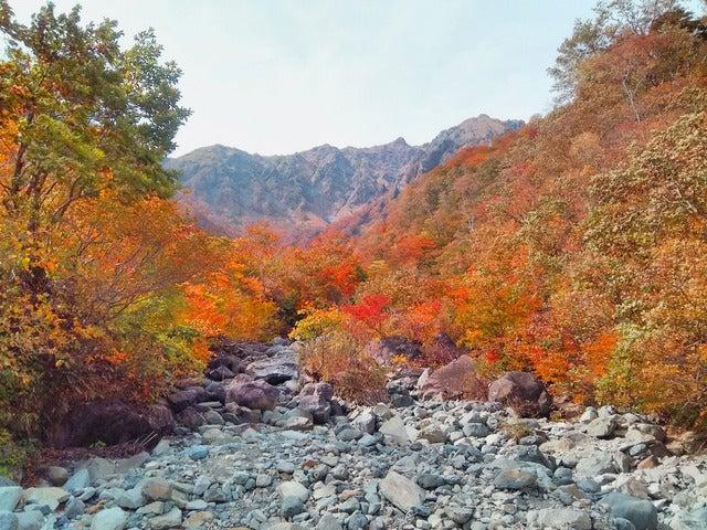 湯檜曽川沿いの散策路から谷川岳を望む。降雨後は水かさが増すので要注意撮影:山口和幸