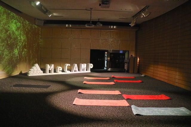 アディダス「MeCAMP」に行ってみた…大自然の中でトレーニング!撮影:山本有莉