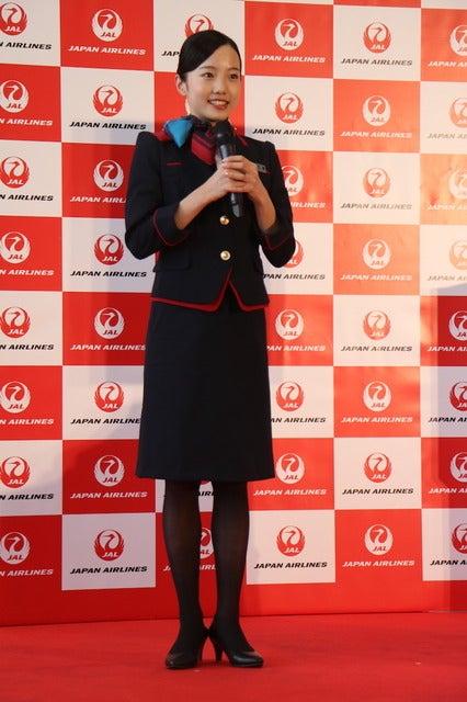 フュギュアスケートの本田真凜がJALとスポンサー契約締結を発表(2016年11月21日)撮影:山本有莉