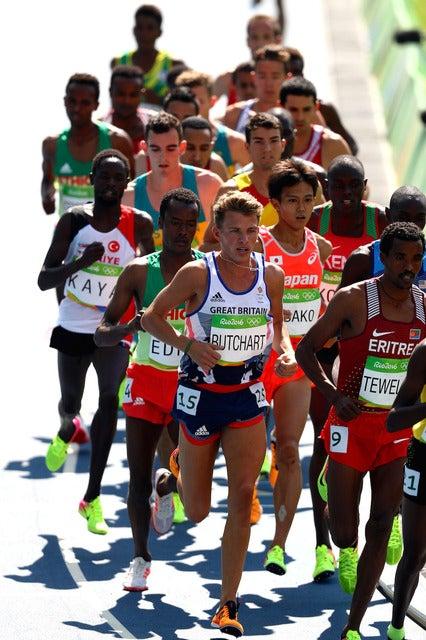 リオデジャネイロ五輪陸上男子5000mの様子 参考画像(2016年8月17日)(c) Getty Images