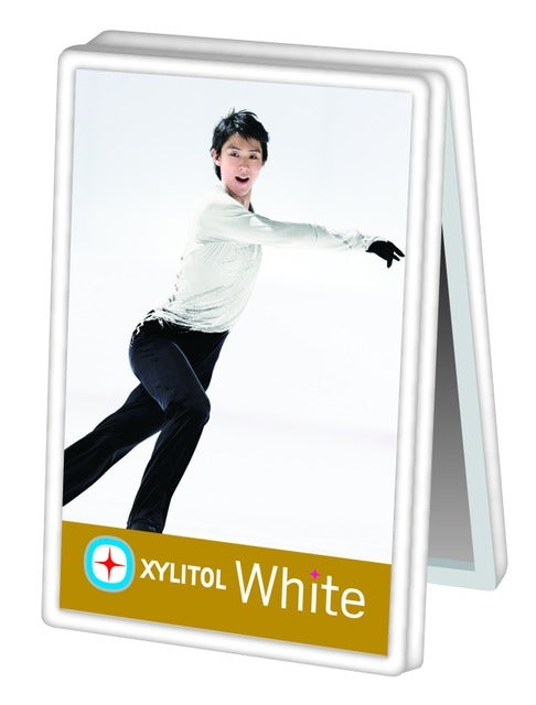 羽生結弦メモクリップスタンド付き「キシリトール ホワイトファミリーボトル」発売