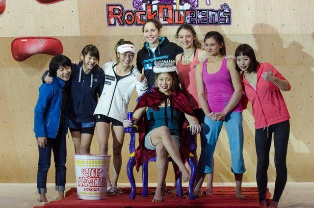 女性だけのボルダリング大会Rock Queens、野中生萌が優勝…自身で大会プロデュース撮影:五味渕秀行