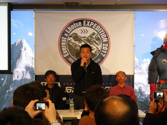 ICI石井スポーツ社長、エベレストとローツェの二座連続登頂に挑戦