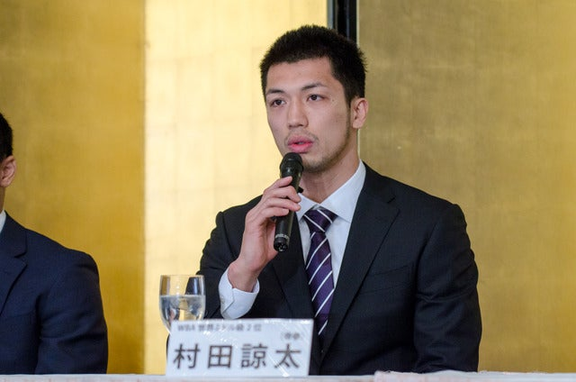 世界タイトルマッチに挑戦する村田諒太(2017年4月3日)撮影:五味渕秀行