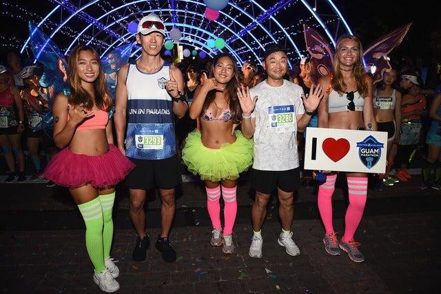ユナイテッド・グアムマラソンに4,335人がエントリー…男子総合優勝は日本からの参加者Photo credit: Matt Roberts/Getty Images for GUAM VISITORS BUREAU