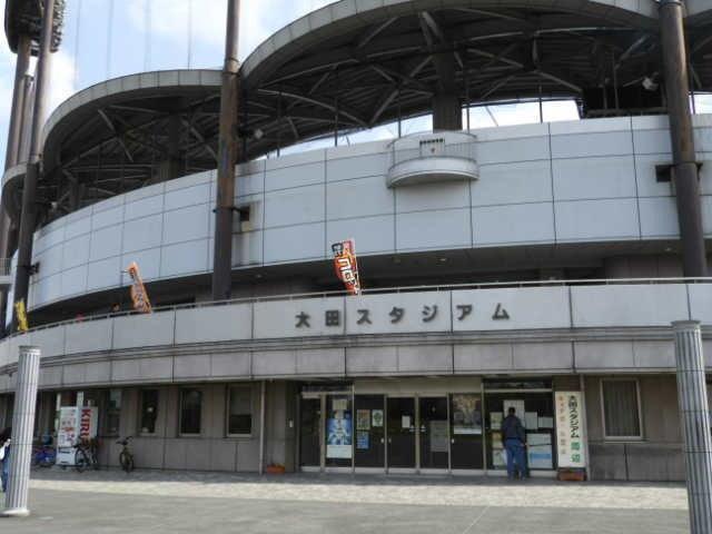 大田スタジアム外観撮影:手束仁
