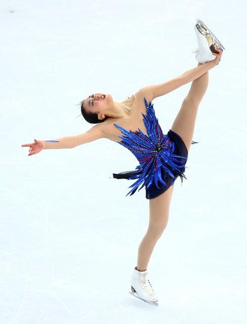 浅田真央 参考画像(2014年2月20日)(c) Getty Images