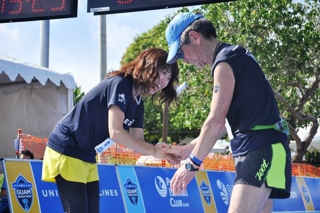 高橋尚子が市民マラソンランナーに伝えた秘伝のイメージ走法とは撮影者:大日方航