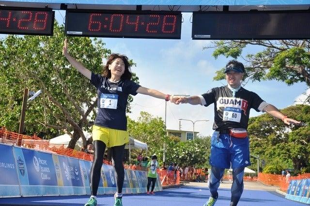 高橋尚子、マラソンの給水方法についてアドバイス撮影者:大日方航