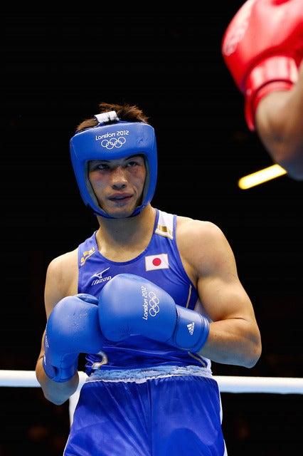 ロンドン五輪ボクシングミドル級に出場した村田諒太 参考画像(2012年8月11日)(c) Getty Images
