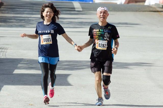 グアムマラソンインターナショナル2016が開催(2016年4月10日)撮影:五味渕秀行