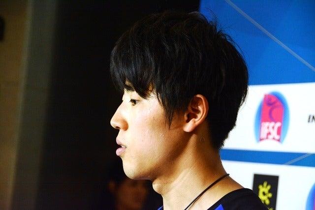 ボルダリングW杯、予選を藤井快が振り返る「予選が鬼門だと思っていた」撮影者:大日方航