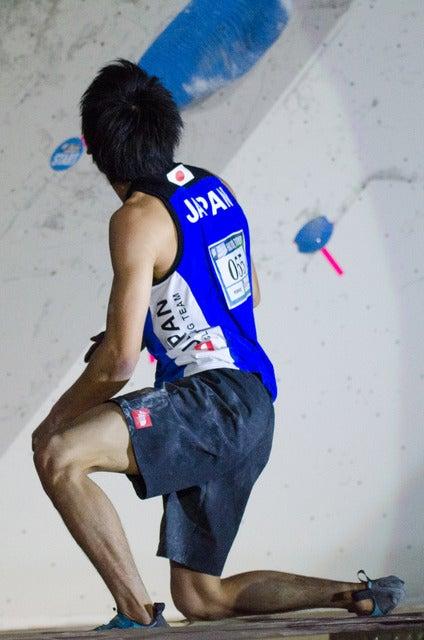 楢崎智亜、2位に悔し涙…逆転を許したボルダリングW杯八王子大会撮影:五味渕秀行
