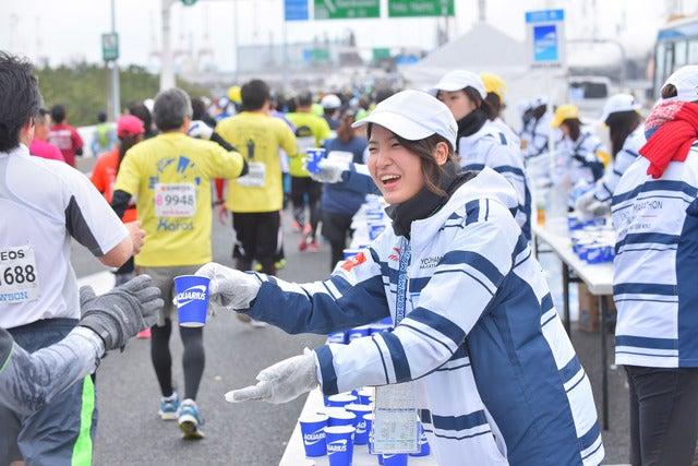 「横浜マラソン2017」ボランティア7,400人募集