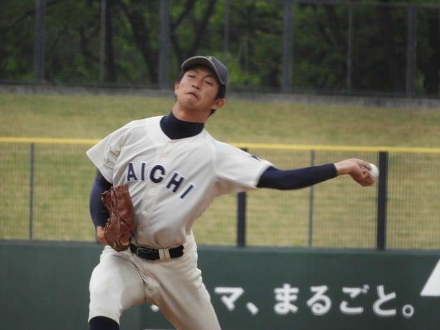 愛知大・和久田君(4年・大垣日大)撮影:手束仁