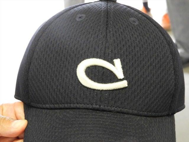 中京帽子のCマークは愛知県の多くの野球少年の憧れだった撮影:手束仁