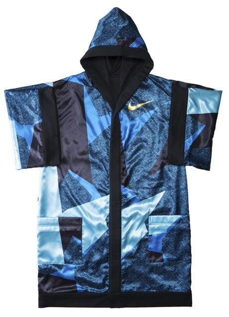 村田諒太選手の着用するガウン画像提供:ナイキジャパン