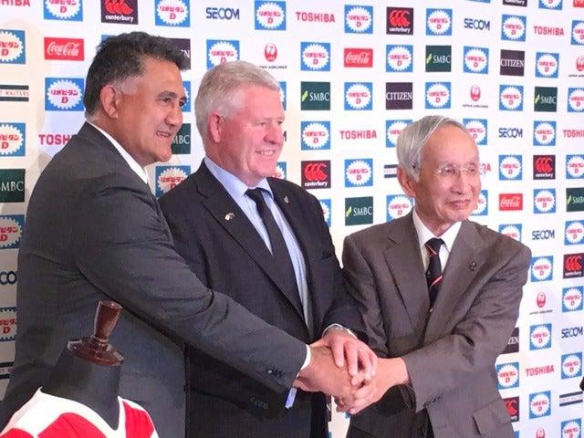 「全力で戦い敬意を示す」オールブラックスと対戦決定のラグビー日本代表HCジェイミー・ジョセフ