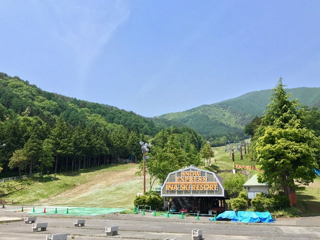 スキー場のゲレンデを活用した「長野・伊那きのこ王国キャンプ場」オープン