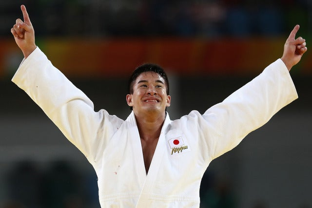 柔道男子90キロ級でベイカー茉秋が金メダル(c) Getty Images