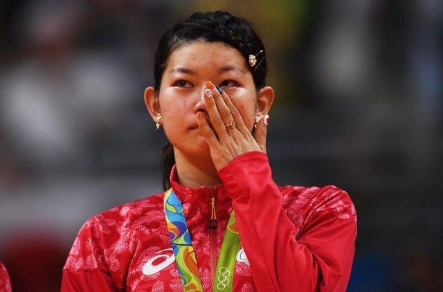 高橋礼華(c)Getty Images