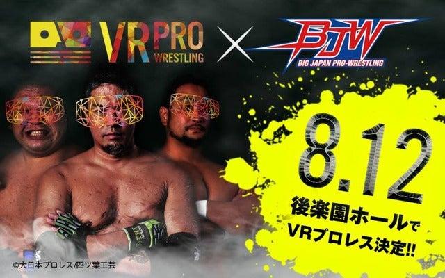 「路上プロレスin東京ドーム」をVR映像化、DMM.comで発売