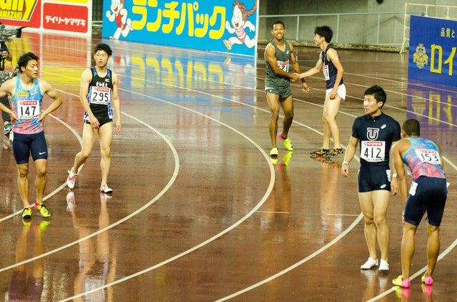 第101回日本陸上競技選手権大会、男子100m決勝(2017年6月24日)撮影:五味渕秀行