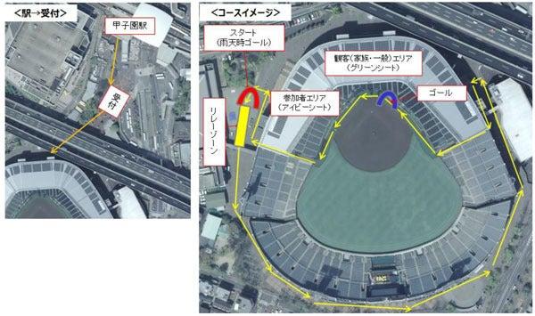 阪神沿線に縁のあるランナー対象のリレーマラソン「甲子園リレーラン」11月開催