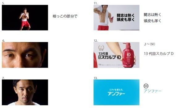 WBC世界バンタム級王者・山中慎介が頭皮を防衛!?スカルプD新CM放映