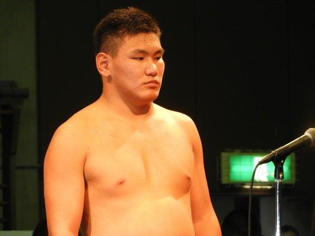 準優勝のビャンハスレン君(日体大柏)撮影: 手束仁