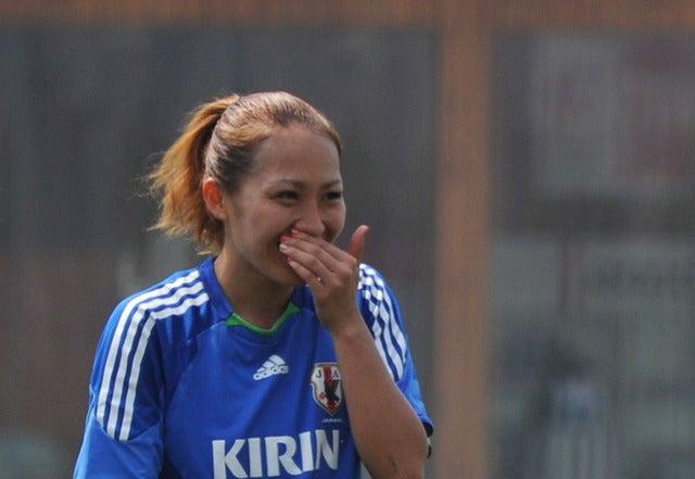 丸山桂里奈(2011年9月6日)(c)Getty Images